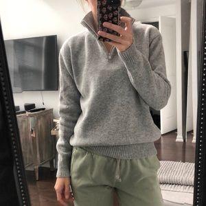 Brandy Melville Half-Zip Sweater